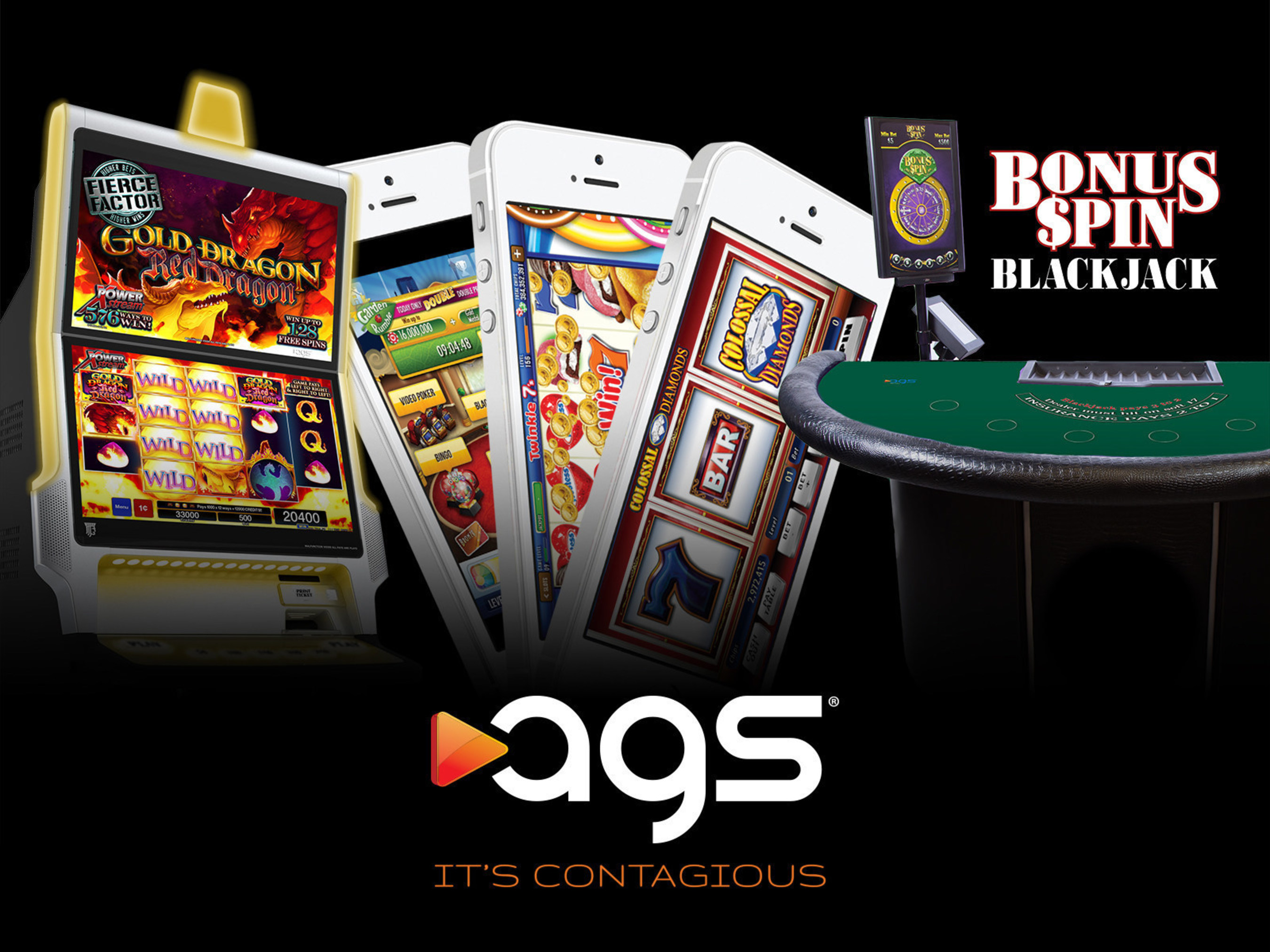 AGS To Highlight Immersive Icon Cabinet And High-performing