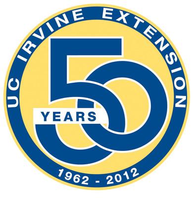 UC Irvine Extension 50th Anniversary logo.  (PRNewsFoto/UC Irvine Extension)