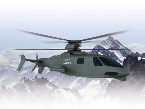 Sikorsky announces supplier team to build S-97 RAIDER helicopter prototypes.  (PRNewsFoto/Sikorsky Aircraft Corp.)