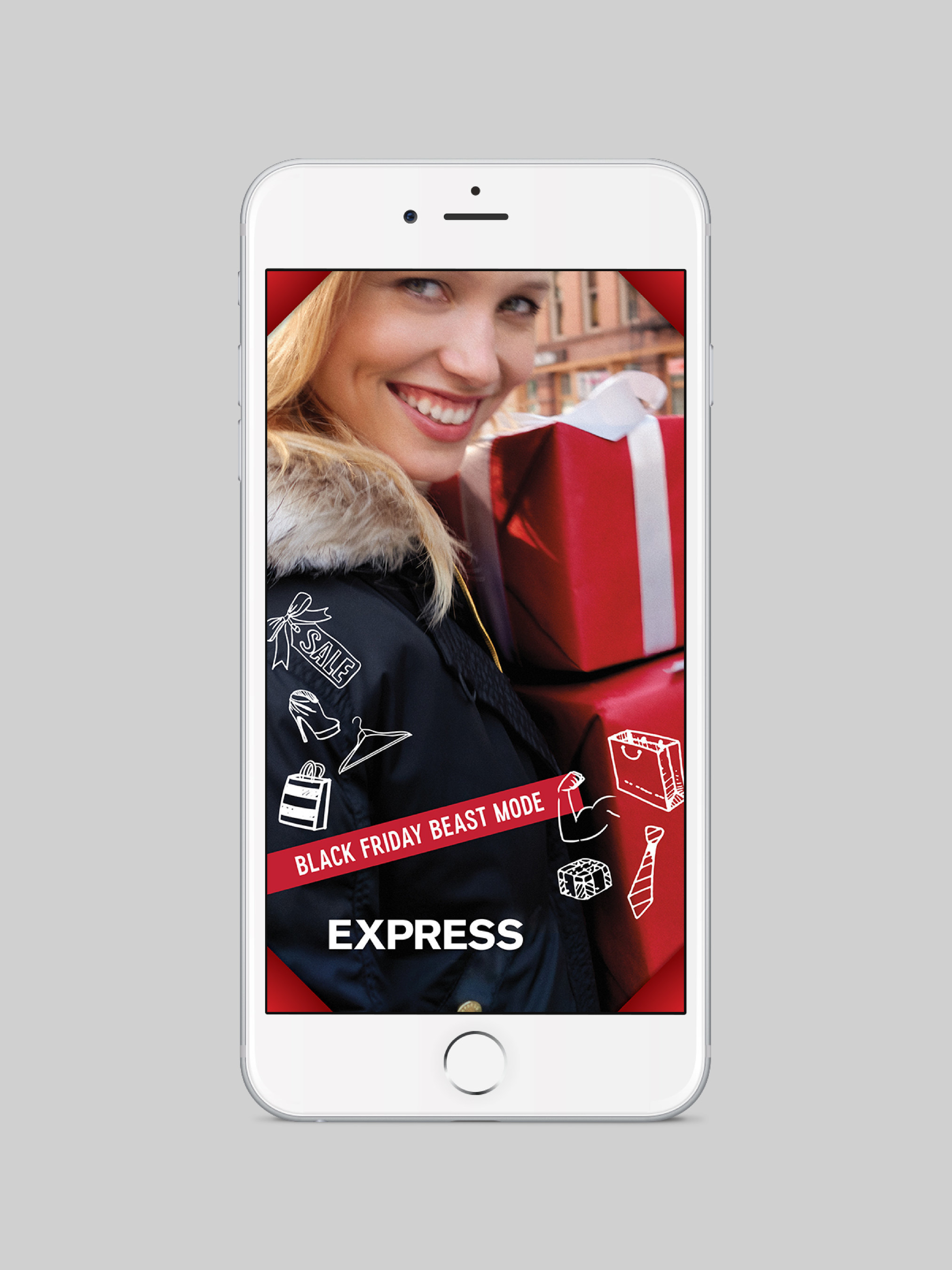 Express to Sponsor National Snapchat Filters on Black Friday