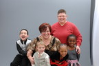 A recent family photo of April DeBoer and Jayne Rowse with their children (L-R) Nolan, Jacob, Rylee, and Ryanne.