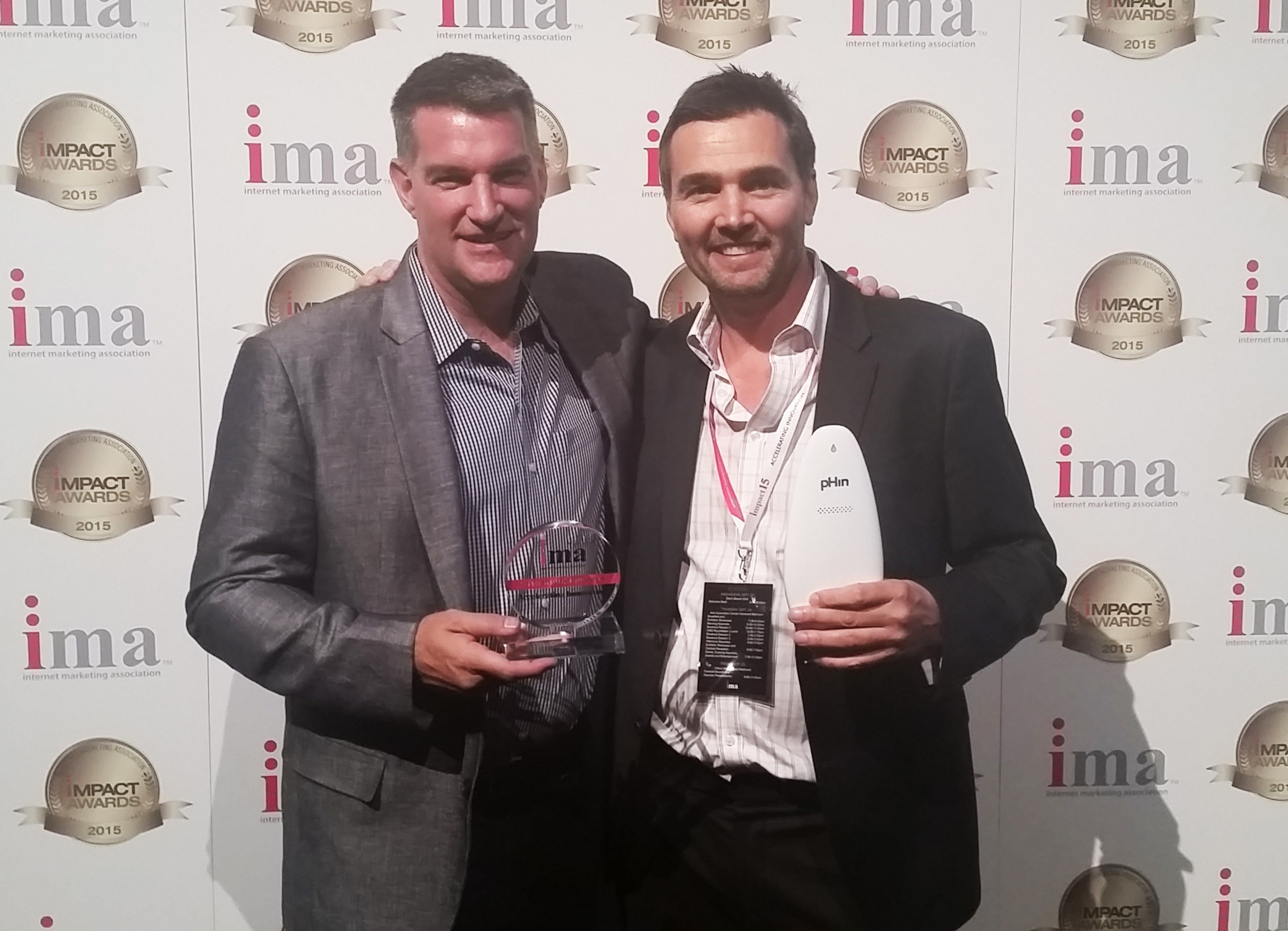 """ConnectedYard Receives """"Innovator of the Year"""" Honors from the Internet Marketing Association (IMA) at IMPACT15 in Las Vegas"""