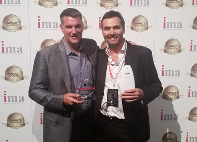 "ConnectedYard Receives ""Innovator of the Year"" Honors from the Internet Marketing Association (IMA) at IMPACT15 in Las Vegas"