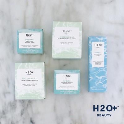 H2O+ Beauty Masks and Night Creams
