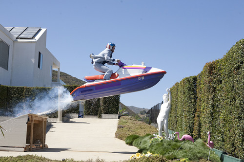 Johnny Knoxville in Paramount Pictures' JACKASS 3D.  (PRNewsFoto/Paramount Digital Entertainment, Sean ...