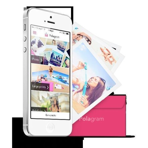 Print and offer great moments directly from your smartphone in less than a minute (PRNewsFoto/Polagram)