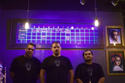 Greg Kormendi (featured center) and team are the masterminds behind Think Escape Rooms and QQuest Escape Games, the highest rated escape rooms in Broward County, Florida.