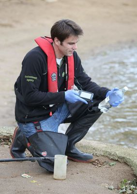 Field mobile deployment with Environment Agency