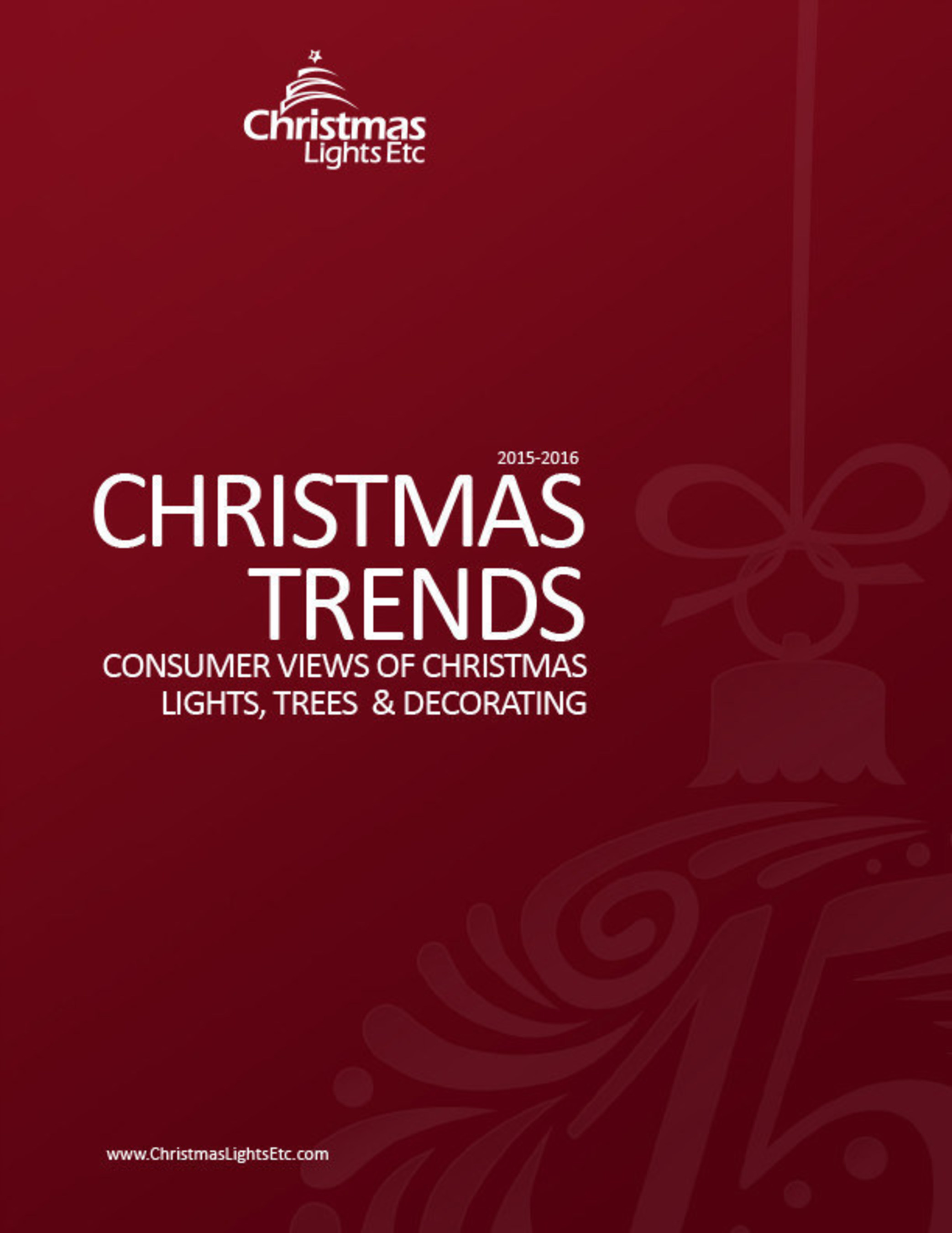 Awesome Christmas Trends Report: Consumer Views Of Christmas Lights, Trees U0026  Decorating By Christmas Lights