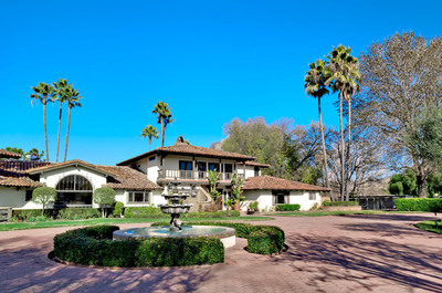 Jack Klugman's 40-acre Rare Wine Country Estate Goes to Auction.  (PRNewsFoto/Premiere Estates Auction Company)