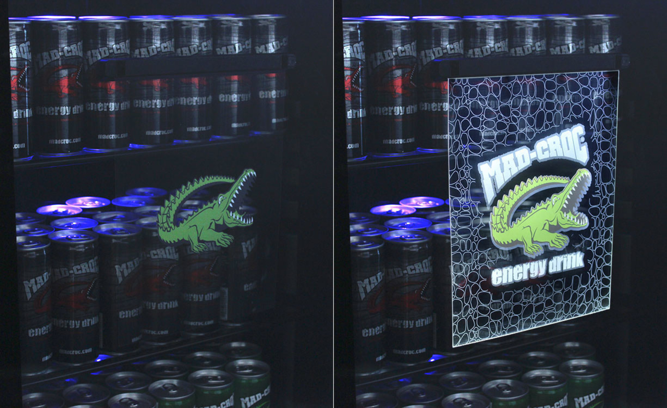 InvisiSign Display for Mad Croc from Design Phase