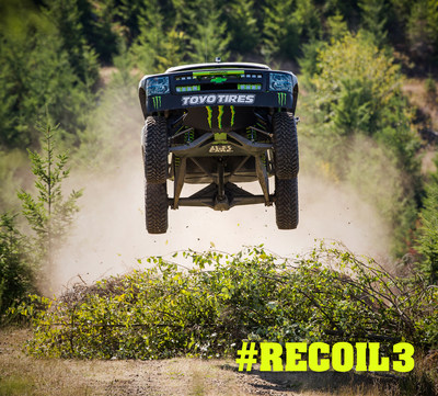 Off-Road champion BJ Baldwin has taken his quest for adventure to the rugged Pacific Northwest in Recoil 3.  Watch it at youtube.com/toyotires.