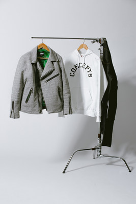 Heineken and Boston's Concepts debut motorcycle jacket to mark the final 2015 #Heineken100 program product collaboration. Just 100 of the specially designed Vanson jackets were made.