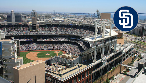 "ICMI offers reserved section at Petco Park for Contact Center Expo & Conference attendees who can add-on a ticket to cheer on the San Diego Padres vs the Miami Marlins plus dine from the ""all you can eat"" ballpark offerings.  (PRNewsFoto/International Customer Management Institute (ICMI))"
