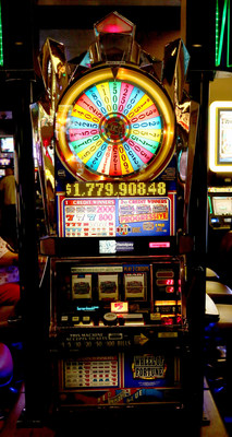 This machine made a lucky Table Mountain Casino Club Player a millionaire!  He won $1,779,908.48! Photo Credit: Table Mountain Casino
