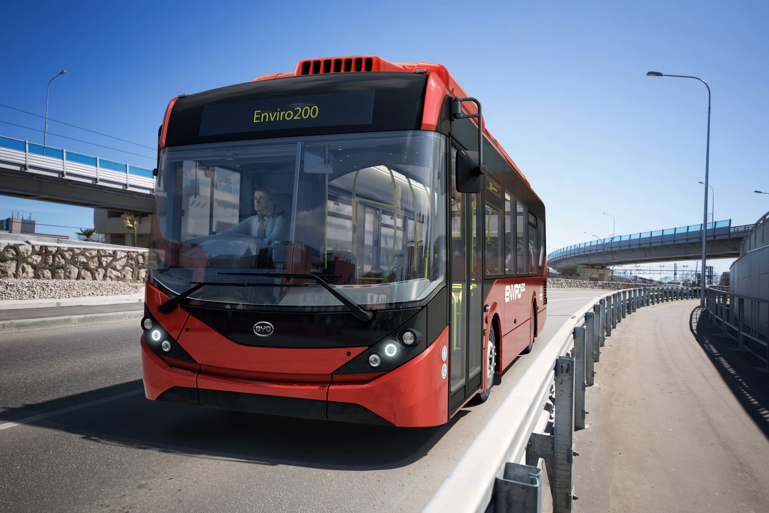 The BYD - Alexander Dennis 12m Electric Bus