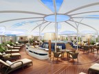 """Rendering of Ultimate Serene Area, """"The Retreat"""" on Seabourn Encore"""