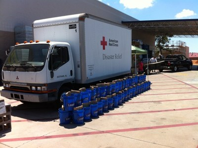 Lowe's donates $500,000 to American Red Cross Disaster Relief to help communities impacted by historic flooding.