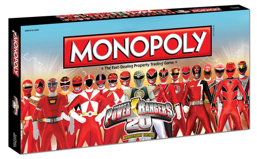 Power Rangers 20th Anniversary Edition of Monopoly. (PRNewsFoto/Saban Brands) (PRNewsFoto/SABAN BRANDS)