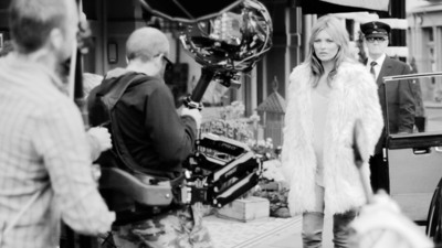 "STUART WEITZMAN DEBUTS ""MADE FOR WALKING"" A SHORT FILM STARRING STUART WEITZMAN BOOTS & KATE MOSS.  (PRNewsFoto/Stuart Weitzman)"