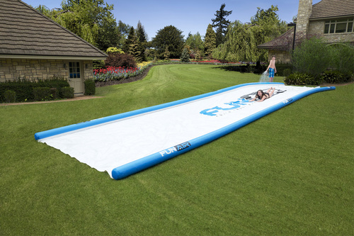Big Fun! This is like the slippery slide most of us remember from our youth - but on steroids! A whopping ...