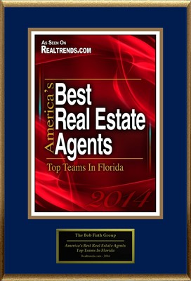 "The Bob Firth Group Selected For ""America's Best Real Estate Agents: Top Teams In Florida"" (PRNewsFoto/America Registry)"