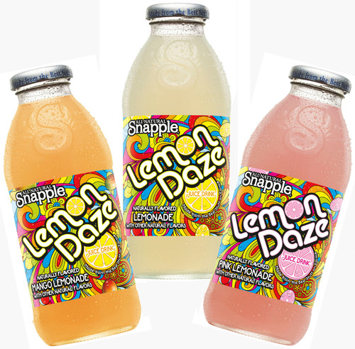 7-Eleven app offers download for free 16-oz Snapple Lemon Daze beverage on Aug. 20 good at participating stores while supplies last.  (PRNewsFoto/7-Eleven, Inc.)