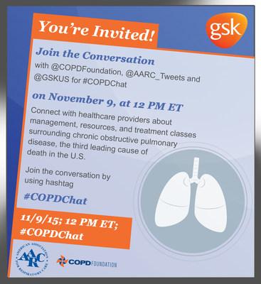 COPD Tweet Chat Invite