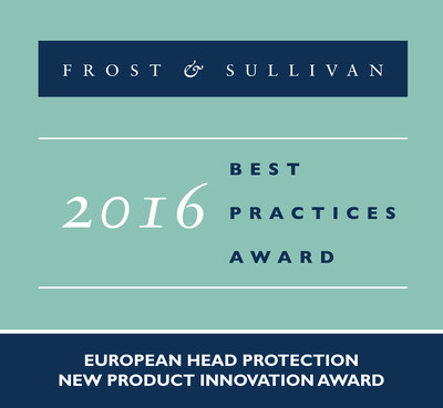 Frost & Sullivan recognizes ENHA GmbH with the 2016 European Head Protection New Product Innovation.