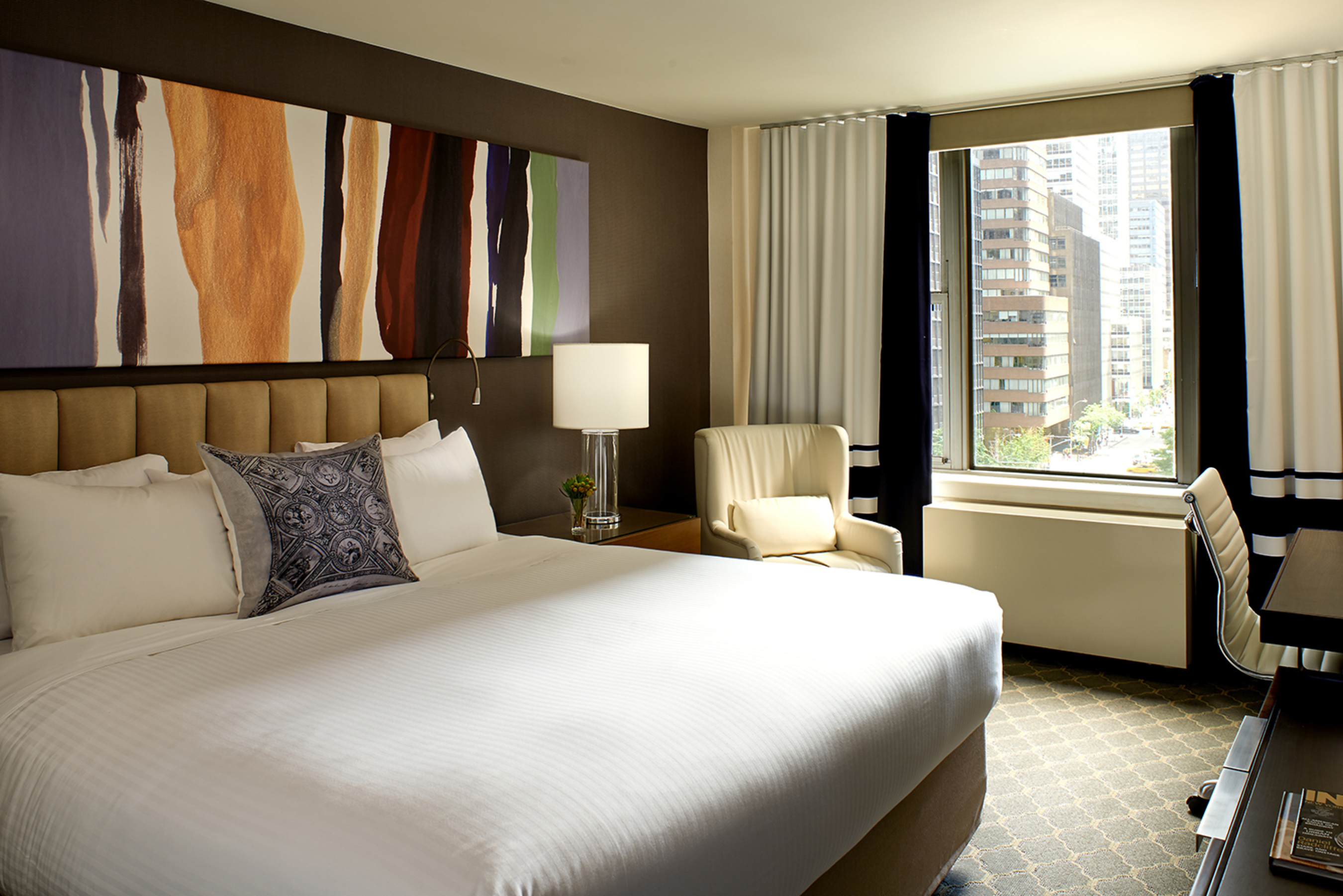 Guest room at Fifty NYC, an Affinia Hotel