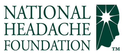 National Headache Foundation logo. (PRNewsFoto/National Headache Foundation) (PRNewsFoto/NATIONAL HEADACHE FOUNDATION)