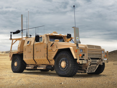 Symphony Block 40 is able to defeat current and emerging improvised explosive device (IED) threats and is designed to protect warfighters in an unpredictable battlespace. Photo from Lockheed Martin.