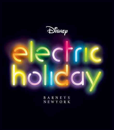 Barneys New York And The Walt Disney Company Announce Holiday 2012 Campaign: Electric Holiday. (PRNewsFoto/Barneys New York)