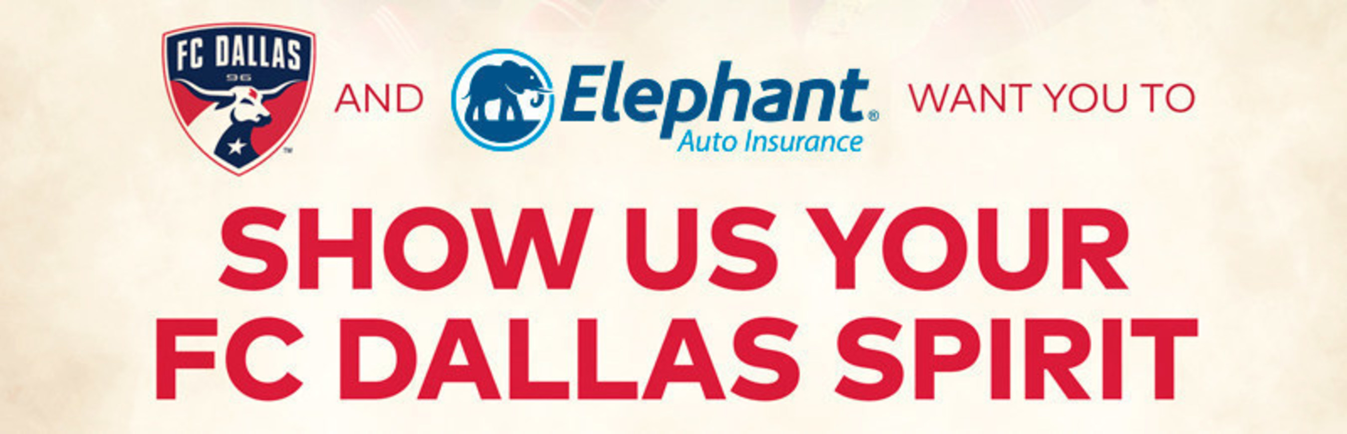 Elephant Auto Insurance Quote Elephant Auto Insurance Wants To See Your Fc Dallas Spirit