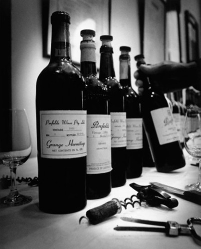 Penfolds Re-Corking Clinics 2012 -- The Ultimate Wine Health-Check