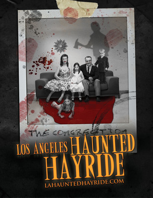 "Los Angeles Haunted Hayride IV ""The Congregation"" Brings the Horror to a 360-Degree Experience...And A Longer Trail. Tickets for the Los Angeles Haunted Hayride are now on pre-sale at www.losangeleshauntedhayride.com.  (PRNewsFoto/Los Angeles Haunted Hayride)"