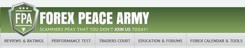 Forex Peace Army logo (PRNewsFoto/Forex Peace Army)