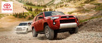 The 2014 Toyota FJ Cruiser and 2014 Toyota 4Runner, each available at Toyota of Naperville, represent two of the best off-road vehicles available to customers. (PRNewsFoto/Toyota of Naperville)
