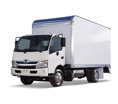 Hino's new COE is designed for optimized aerodynamics.  (PRNewsFoto/Hino Trucks, Guy Spangenberg)