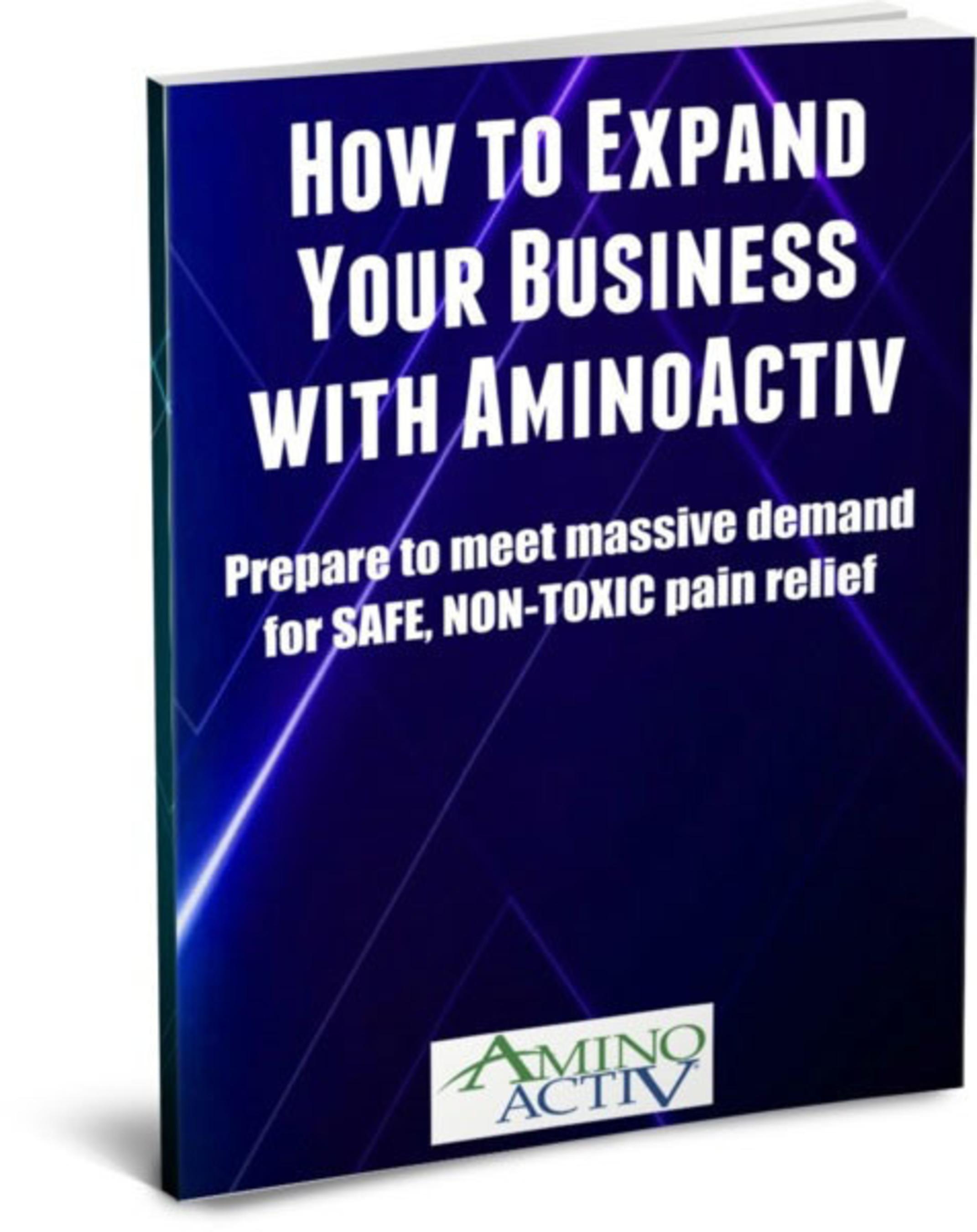 AminoActiv reseller ebook.  (PRNewsFoto/Vireo Systems, Inc.)
