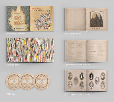 "Dorman, who is also a 2003 graduate, with a BFA in Studio Arts, worked collaboratively with Berkeley to design not only the album art, but also the art for the accompanying book, ""The Free Brontosaurus"" (Rare Bird Books, 2015), a novella with 10 short stories about characters who are also represented by a song on ""Cardboard Boat."""