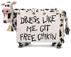 Cow Appreciation Day is this Friday, July 12 at Chick-fil-A.  (PRNewsFoto/Chick-fil-A, Inc.)