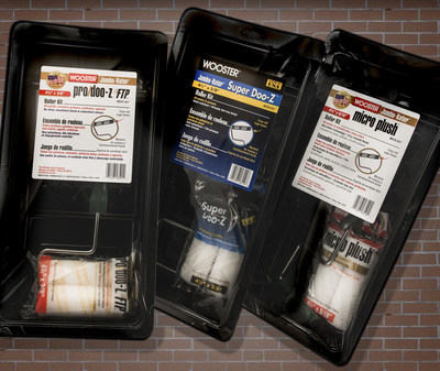New Pro/Doo-Z(R) FTP(TM), Super Doo-Z(R) & Micro Plush(TM) Jumbo-Koter(R) Kits Join Popular Wooster Brush Miniroller Program