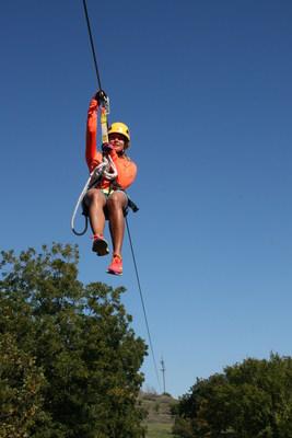 Air Donkey Zipline Adventures in Davis, Oklahoma