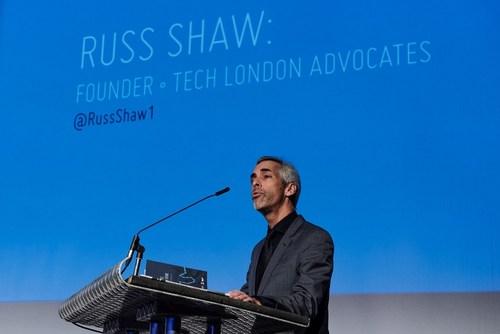 Russ Shaw, Mayor of London's Technology Ambassador and Founder of Tech London Advocates, at the DebateTech Hustings. (PRNewsFoto/London & Partners) (PRNewsFoto/London & Partners)