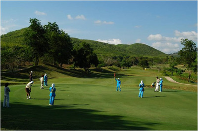 Thailand has earned its stripes as Asia's Golf Hub.  (PRNewsFoto/Tourism Authority of Thailand)