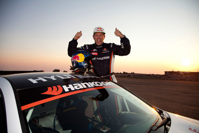Rhys Millen Sets New World Record At 2012 Pikes Peak Hill Climb In Race-Prepared Hyundai Genesis Coupe