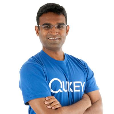 Guru Gowrappan, Executive Vice President of Quixey.  (PRNewsFoto/Quixey)