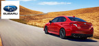 The performance-driven Subaru WRX has been completely redesigned for the 2015 model year.  (PRNewsFoto/Briggs Auto Group)