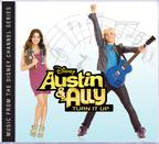 AUSTIN & ALLY: TURN IT UP SOUNDTRACK COVER.  (PRNewsFoto/Walt Disney Records)